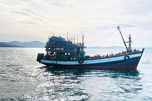 Nearly 400 Rohingya Rescued From Boat Near Bangladesh After 2 Months Adrift