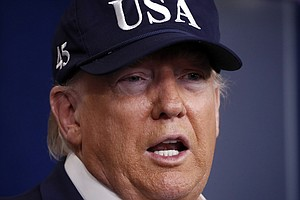 Trump Says He'll 'Temporarily Suspend Immigration' Over Coronavirus Fears