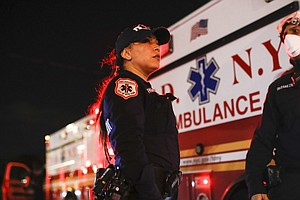 'I Hear The Agony': Coronavirus Crisis Takes Toll On NYC's First Responders