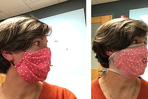 Adding A Nylon Stocking Layer Could Boost Protection From Cloth Masks, Study ...
