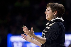 Notre Dame Basketball Coach Muffet McGraw Wants To See More Women Coaching