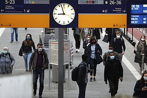Masks Become Compulsory In Germany As Lockdown Restrictions Slowly Ease