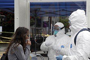 Los Angeles City And County Offer Free Coronavirus Testing To All Residents