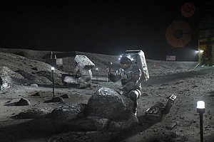 NASA Names Firms In Competition To Build Next-Gen Lunar Lander