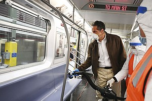 'A Monumental Undertaking': NYC Subway To Disinfect Every Train Each Night