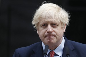 U.K.'s Boris Johnson Says His Battle With Coronavirus 'Could Have Gone Either...