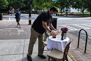 One-Way Sidewalks And Parking Lot Dining Rooms: Is This The Future?