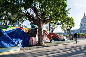 San Francisco Shifts From Trashing Homeless Camps To Sanctioning Them Amid CO...