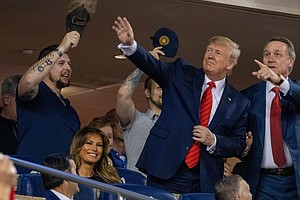 President Trump Pushes To Open Paused Sports Leagues