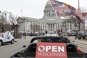 Mayor Of Madison Calls Decision To Overturn Wisconsin Stay-At-Home Order 'Out...