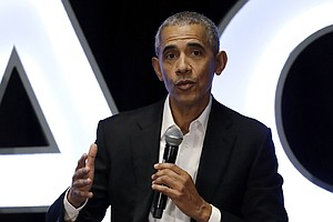In Virtual Speech To Black Graduates, Obama Says U.S. Lacks Leadership On Cor...