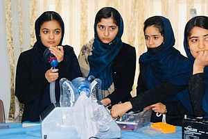 All-Girl Robotics Team In Afghanistan Works On Low-Cost Ventilator ... With C...