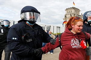 Germans Protest Shutdown Even After Easing Of Coronavirus Restrictions