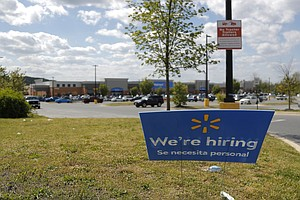 Walmart Hires Almost A Quarter-Million Workers As Sales Soar