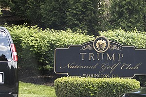 Trump Returns To Golf Course For 1st Time Since March