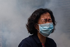 Hong Kong Police Fire Tear Gas As Thousands Protest Planned Security Law