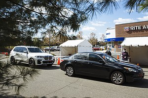 Trump's Plan For Drive-Up COVID-19 Tests At Stores Yields Few Results