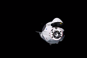 SpaceX Crew Dragon Capsule Successfully Docks With The International Space St...