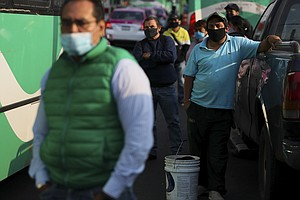 Mexico's President Touts Reopening With The Country Mostly In Coronavirus Red...