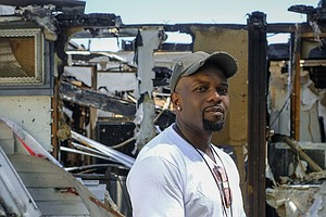 'I Didn't Deserve It': Pandemic Shut Down His Barbershop, Then A Fire Destroy...
