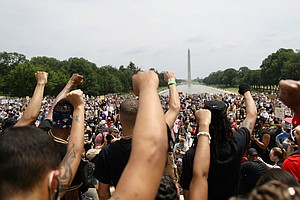 Crowds Assemble Across Washington In Mass Demonstrations Against Police Violence