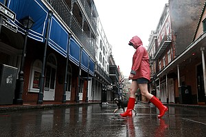 Tropical Storm Cristobal Hits Louisiana, Mississippi Coasts