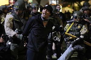 LA Protesters Arrested For Violating Curfew Won't Be Charged