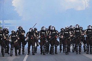 Police Officers Slashed Car Tires During Minneapolis Protests, Police Agencie...