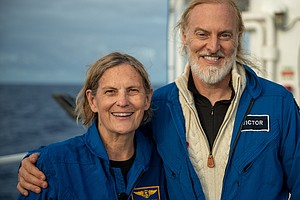 First U.S. Woman To Walk In Space Dives To Deepest Point In The Ocean
