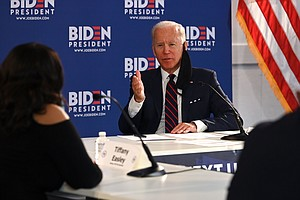 Biden Outlines Plan To Restart Economy, Including Testing Every Worker