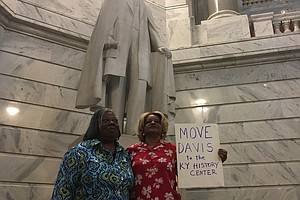 Jefferson Davis Statue Voted Out Of Kentucky State Capitol