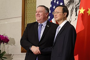 Pompeo And China's Top Diplomat Meet In Hawaii As Relations Worsen