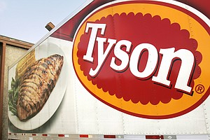 China Suspends Poultry Imports From Tyson Foods Plant In Arkansas