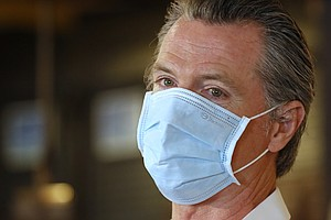 Photo for California Governor On The Hot Seat Over Pandemic Response