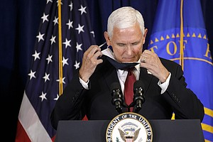 Pence Urges Americans To Wear Masks To Stop Spread Of COVID-19