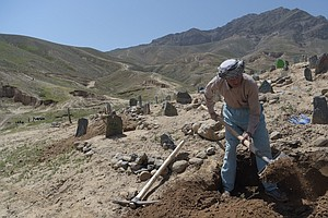 No Rest For The Gravediggers Of Afghanistan