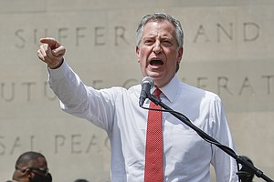 De Blasio On Shifting $1 Billion From NYPD: 'We Think It's The Right Thing To...