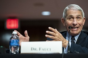 Fauci: Mixed Messaging On Masks Set U.S. Public Health Response Back