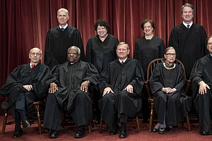 In Supreme Court Term, Liberals Stuck Together While Conservatives Appeared F...