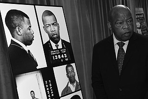 Civil Rights Leader John Lewis Never Gave Up Or Gave In