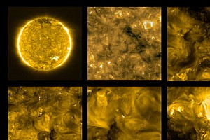 Solar Orbiter Probe Snaps Closest Photos Ever Taken Of The Sun, Revealing Tin...