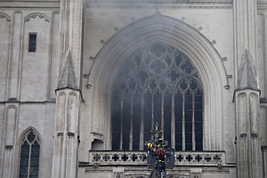 Blaze At Centuries-Old Cathedral In Nantes Under Investigation As Arson
