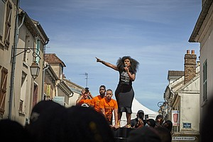 In France, A Sister's Fight For Justice And Black Lives Gains Momentum