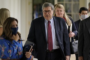 Attorney General Barr Tussles With Democrats In Tense Oversight Hearing