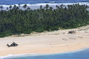 Stranded Mariners Rescued From Island In Micronesia, Thanks To 'SOS' Etched I...
