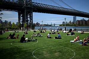 Parks In Nonwhite Areas Are Half The Size Of Ones In Majority-White Areas, St...