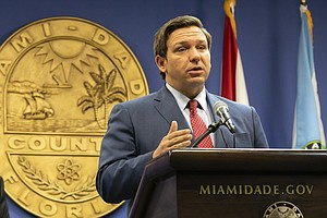 Gov. Says Florida's Unemployment System Was Designed To Create 'Pointless Roa...