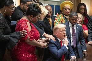 Trump Campaign Trying To Win Over Black Voters, But President Remains A Tough...