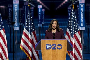 Photo for Supreme Court Fight Could Elevate Kamala Harris' Profile
