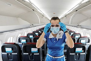 Coronavirus FAQ: So Do Lots Of People Get COVID-19 From Flying?